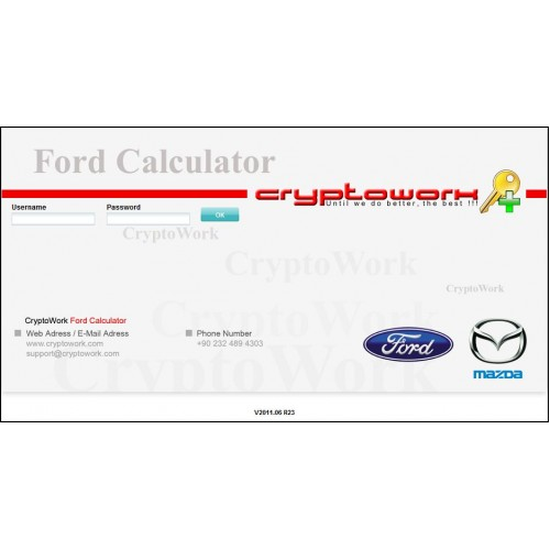 cryptowork ford calculator online